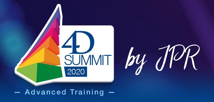 Jetzt anmelden: 4D Summit 2020 - Advanced Training by JPR