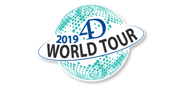 4D World Tour - Jetzt anmelden!